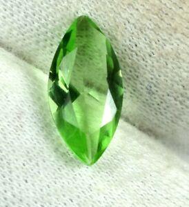 Marquise 2.05 Carat Green Sapphire Eye Clean Gemstone Natural AGI Certified DG70