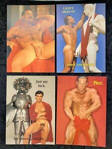 Vintage-Colt-Male-Models-From-The-Colt-Collection-Gallery-XMAS-Greeting-Cards