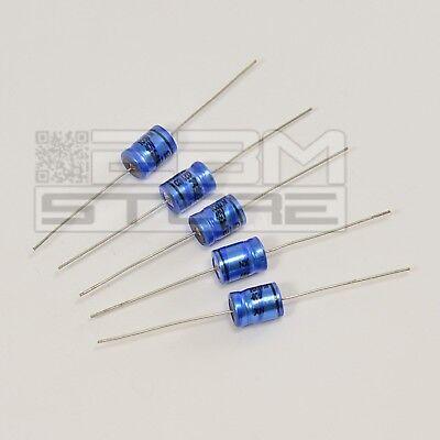 3Pz Condensatore 100 uF 35V Elettrolitici verticali polarizzati 6 x 12 mm.