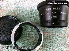 Hartblei Pentacon Six 6 P6 Kiev 60 88CM Lens to Pentax 645 Adapter+MACRO 40mm