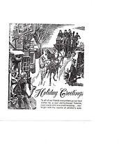 Holiday Greetings Christmas Letterpress Printer Block Kelsey Printing Press