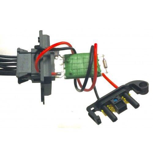 Prise de branchement Connecteur resistance de chauffage ventilation Renault