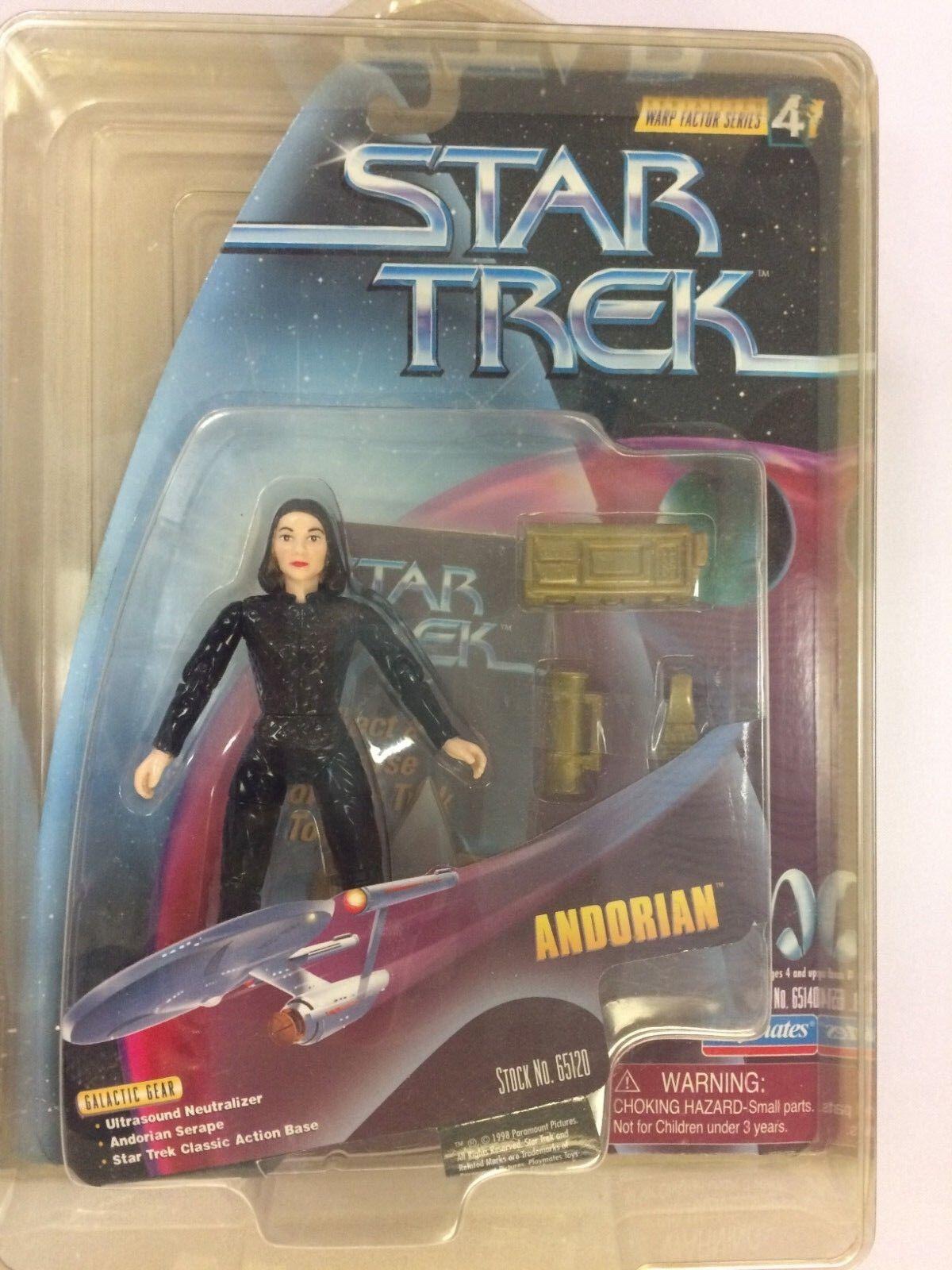 Star Trek Warp Factor Series 4 Keiko O'Brien Error figure rare wrong name