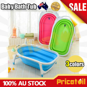 OZ-Baby-Infant-Newborn-Bath-Bathtub-Bathing-Folding-Safety-Foldable-Tub-Durable