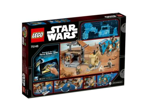 LEGO 75148 Star Wars Encounter on Jakku mit Rey Teedo Unkar Plutt BB-8 N16//8