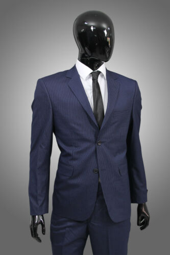 da blu pants in Abito regular gessato royal suit smoking uomo fit blazer tdSvWwvq