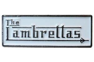 Details about The Lambrettas 70s 80s British MOD Band Group Scooterist  Metal Enamel Badge 25mm