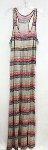 BANANA-REPUBLIC-Women-039-s-Multicolored-Maxi-Dress-Size-L