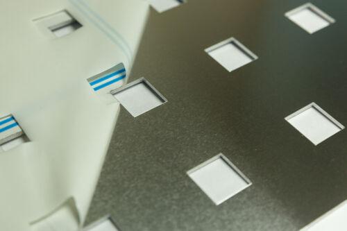 Als Geländerfüllung aus 2 mm Aluminium Qg 20-60 Lochblech zb 1000x500mm