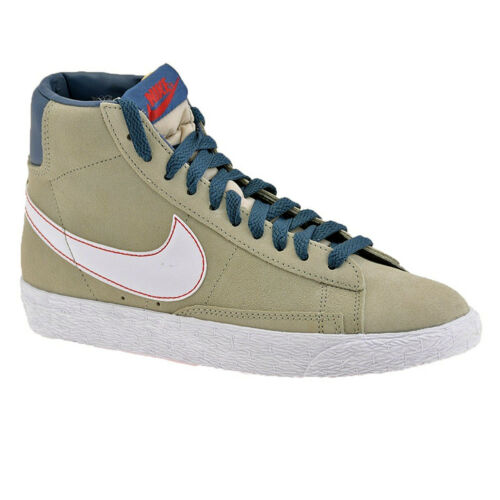 Boys Nike Youth Blazer Mid Hi Suede Vintage Trainers Sneakers Shoe Size