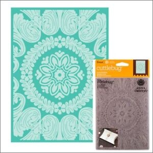 Anna-Griffin-Cuttlebug-embossing-folders-Ornate-Medallion-5-x-7-embossing-folder