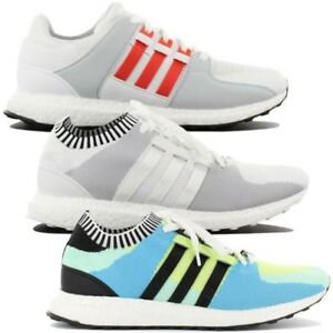 online store 15185 40b23 Image is loading Adidas-Originals-Eqt-Equipment-Support-Ultra -Boost-Trainers-