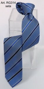 Cravate-made-in-italie-a-rayures-bleu-100-soie-Made-in-Italy