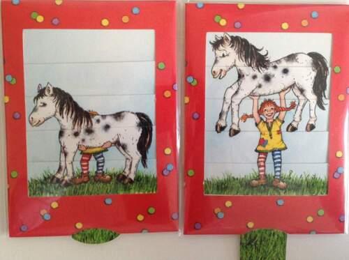 Grusskarte Die lebende Karte Lotta mit Pferd