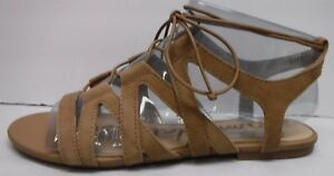 685ac4912459 Sam Edelman Size 7 M Caramel Suede Sandals New Womens Shoes ...