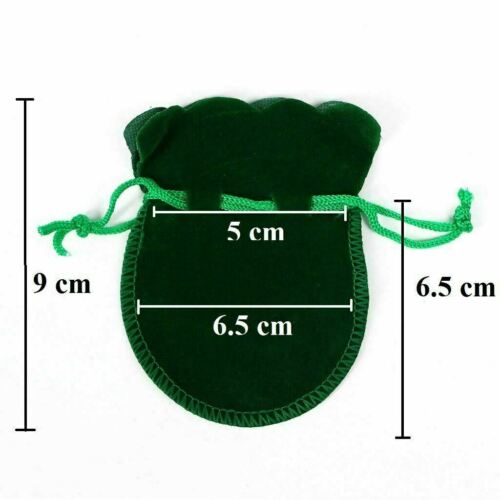 1 to 25 Small VELVET PINK CREAM GIFT POUCHES Jewellery Drawstring BAGS Wholesale