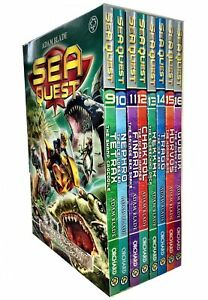 Sea-Quest-Series-3-and-4-Collection-Adam-Blade-8-Books-Set-Chakrol-Ocean-Hammer
