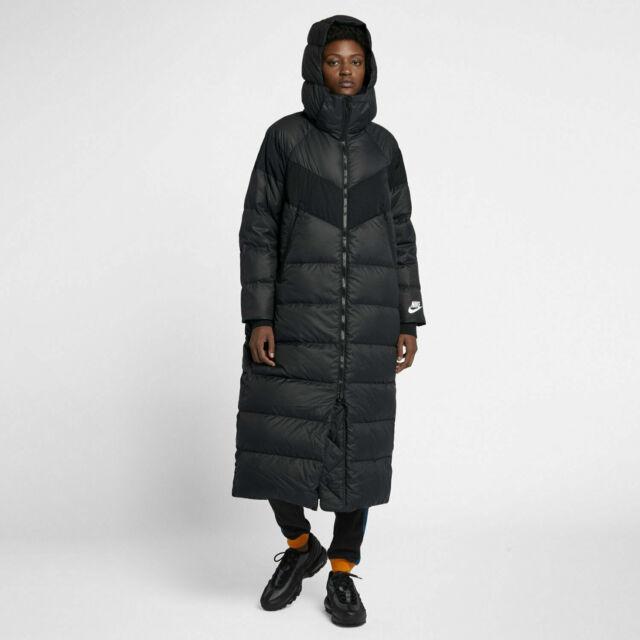 Nike NSW Down Fill Long Parka Jacket Black AH8694 010