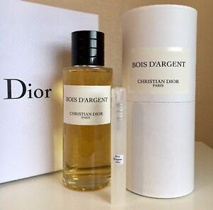 christian dior bois d 39 argent eau de parfum 10ml sample spray ebay