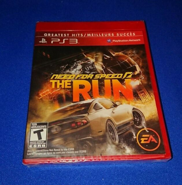 RARE NEW SEALED Need For Speed The Run NFS The Run for PS3 PlayStation 3 Racing