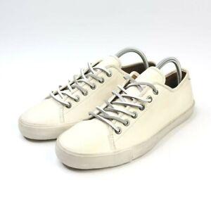 Frye Brett Low 81499 White Leather Lace