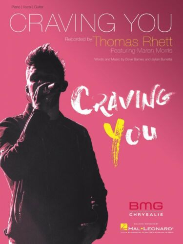 Craving You Sheet Music Piano Vocal Thomas Rhett NEW 000249185