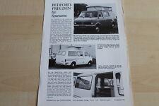 146786) Opel Bedford Blitz - Wohnmobil Tramp - Prospekt 197?