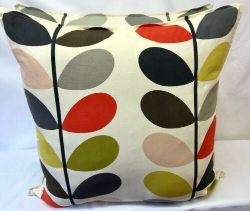 EXTRA LARGE CUSHION COVER MADE IN ORLA KIELY MULTI STEM FABRIC