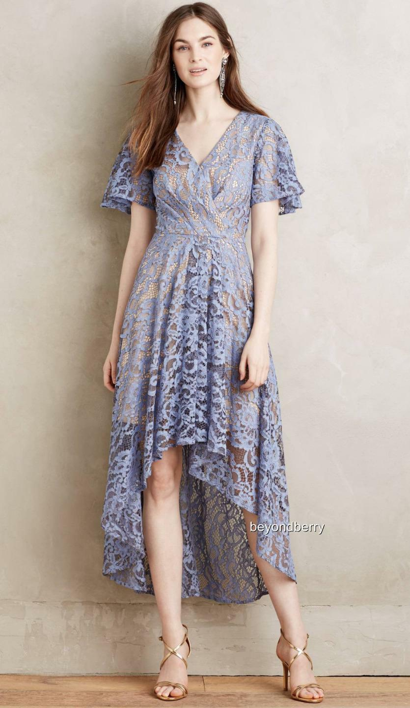 NEW Anthropologie Genevieve Lace Dress by Moulinette Soeurs  Size 6