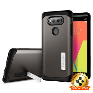 new arrivals 2f40a cc9bc Spigen® LG V20 [Tough Armor] Shockproof Case Slim TPU Cover | eBay