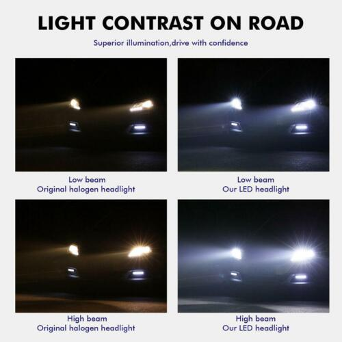H7 2100W 315000LM CREE LED Headlight Kits High Low Beam Fog Bulbs 6000K 2019 NEW
