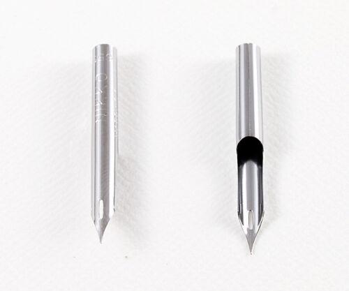 """/""""Made In Japan/"""" Nikko Maru Pen Nib 2-Pics Set N659-2"""