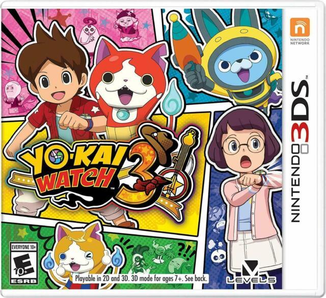 Yo-kai Watch 3 -- Standard Edition (Nintendo 3DS, 2019)