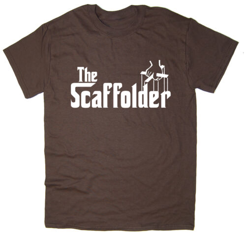 The Scaffolder Many Colours Godfather Spoof Funny T-Shirt