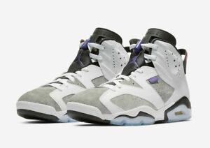 Nike Air Jordan Retro 6 LTR Flint Size