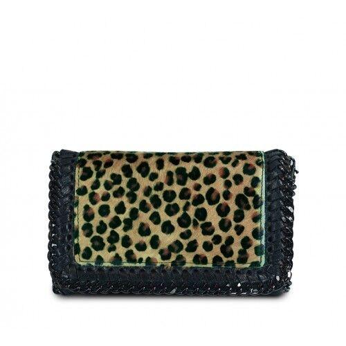 para italiano de bandolera bandolera Leopardo Imprimir mujer cuero bandolera Bolso Nuevo IxaUqfwRf