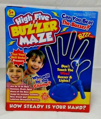 HIGH FIVE beat the Buzz Main Skill coordination Kids Family Fun Board Game Toy