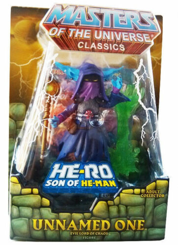 Masters of the Universe Classics THE UNNAMED ONE W//Horde Map MOTUC Son Of He-Man