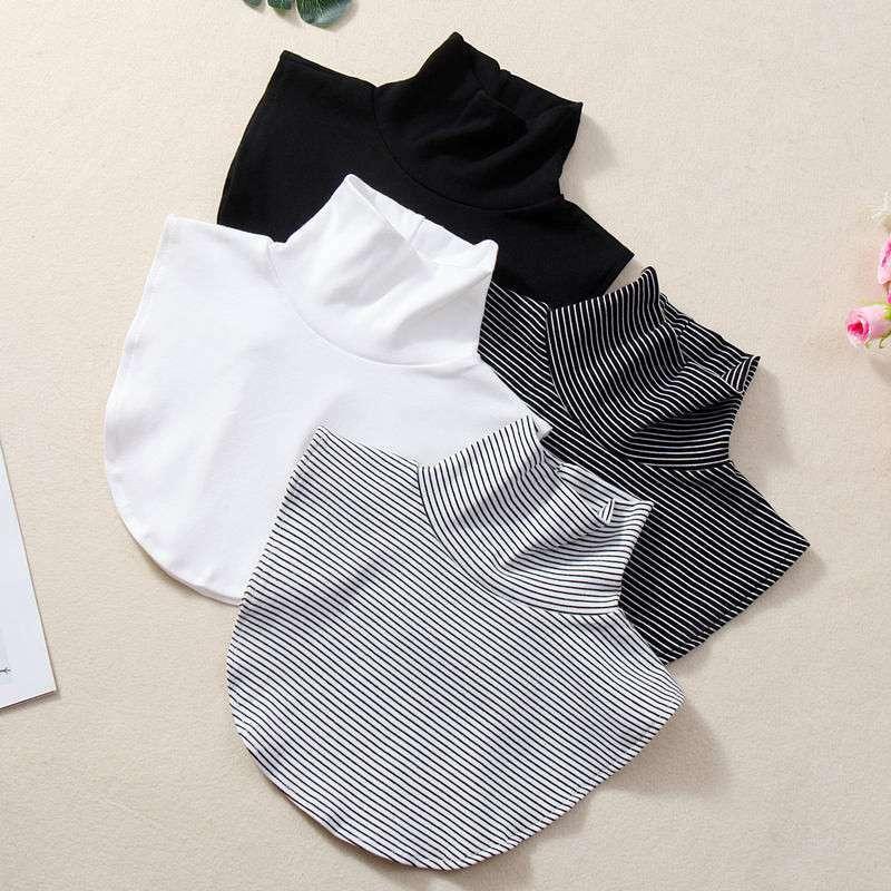 False Collar Shirt Collar BlouseWomen Lace Vintage Detachable Fake Collar Blouse