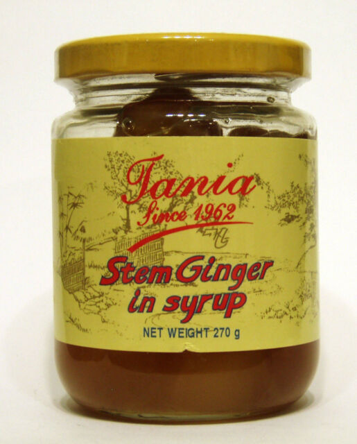 Tania Stem Ginger in Syrup 270g