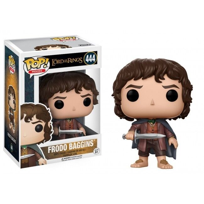 FUNKO POP VINYL FIGURE LORD OF THE THE THE RINGS FRODO 444 NEW e4c8d5