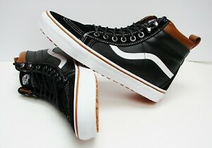 471befc2e2eafc Vans Sk8-Hi MTE Black True White VN-000XH4DX6 Men s Size 11.5