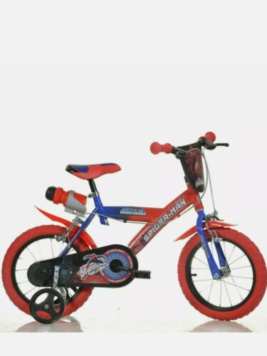 """4+ Y 35.6cm Licensed Character Bicycle Dino Bikes Children/'s 14/"""" Spider-man"""