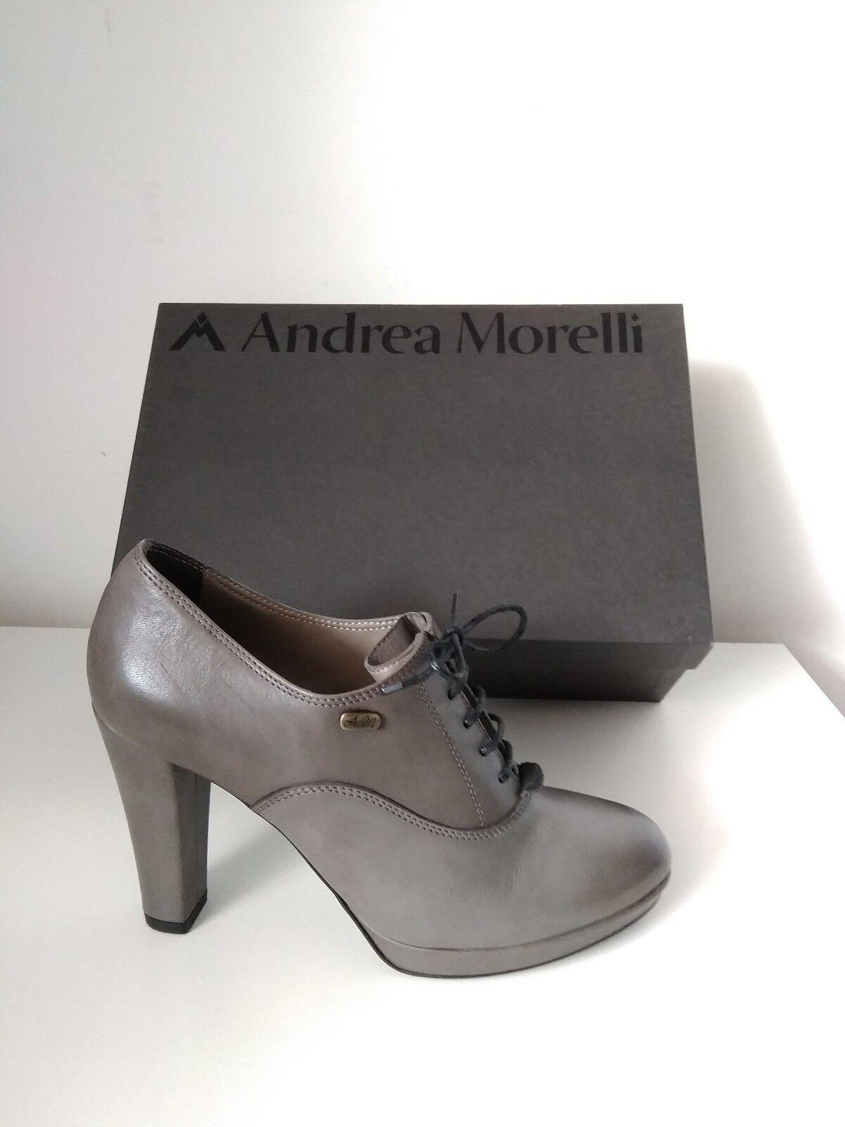 Scarpe francesine Andrea Morelli cenere n.37 tacco 95 mm