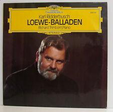 """KARL RIDDERBUSCH CARL LOEWE BALLADEN RICHARD TRIMBORN 12"""" LP (e935)"""
