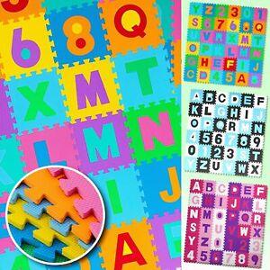 KIDIZ® Spielmatte 86tlg Spielteppich Puzzlematte Kinderteppich Matte Schutzmatte