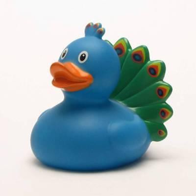 Rubber Duck Peacock Paperella Di Gomma