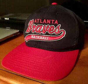 Details about Atlanta Braves Baseball Vintage Retro Starter Hat Cap MLB