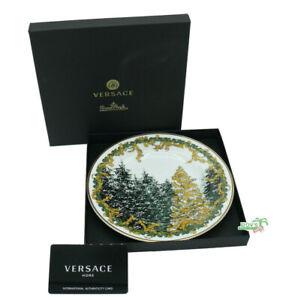 Versace-A-Winter-039-s-Night-Brotteller-18-cm-Assiette-plate-Versace-by-Rosenthal