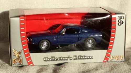Shelby GT 500 KR azul 1968 1:43 yat ming maqueta de coche